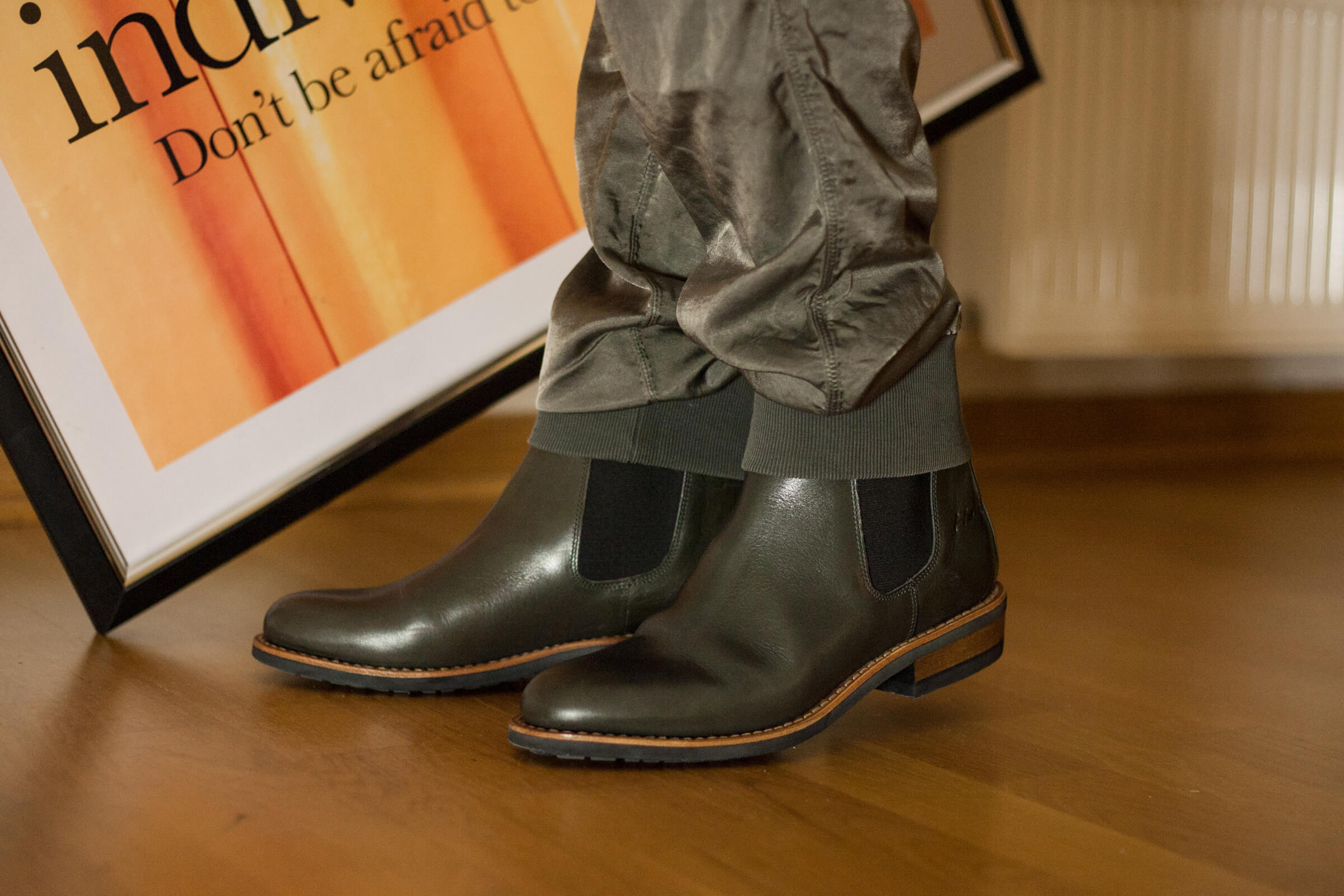 Chelsea Boots – ein evergreen in grau