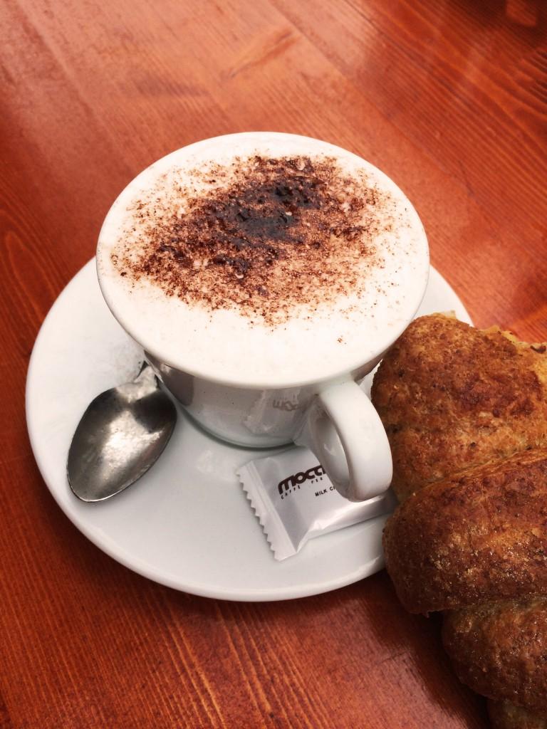 Kaffe auf dem Markt