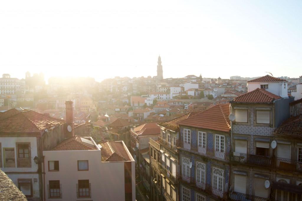 Die Dächer von Porto
